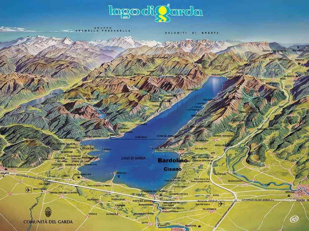 Karte Gardasee Zum Ausdrucken | My blog